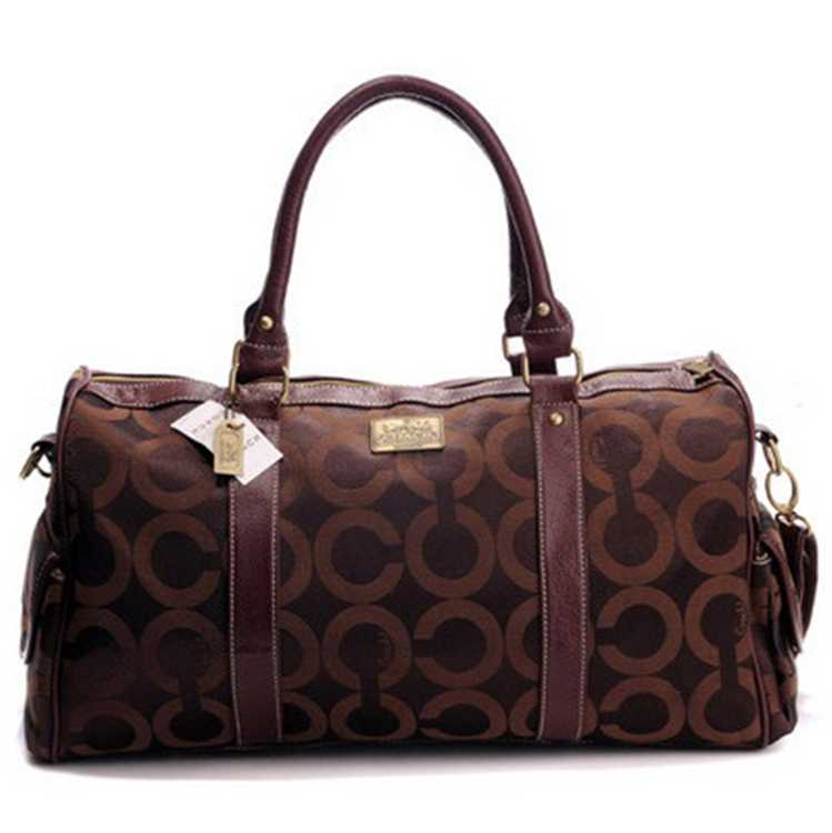 Coach Chocolate Luggage