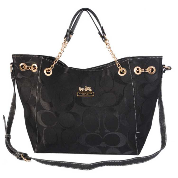Coach Signature Black Bag