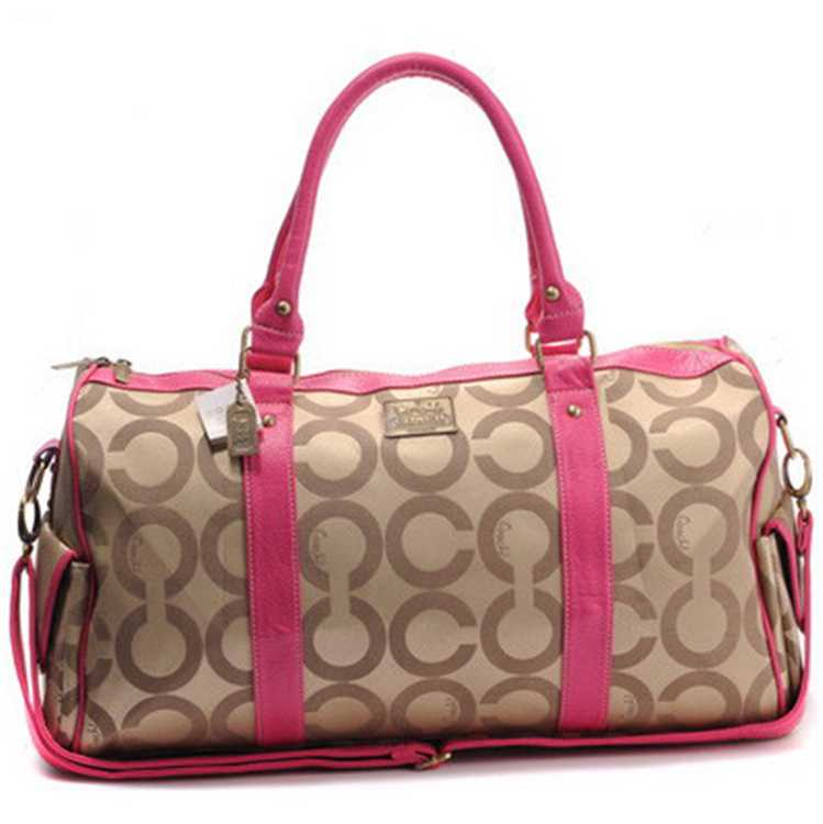 Coach Apricot Pink Luggage