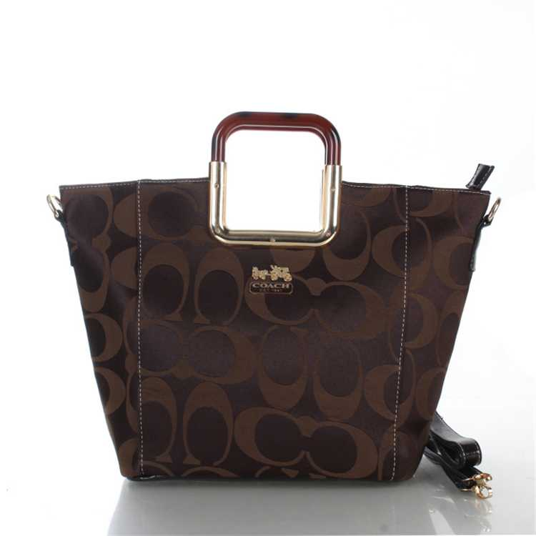 Coach Signature Chocolate Bag