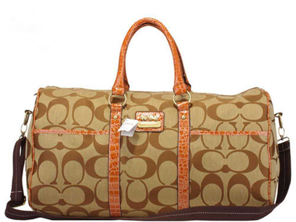 Coach Signature Brown Luggage