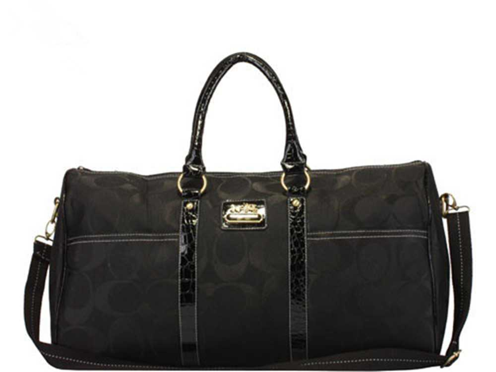 Coach Signature Black Luggage
