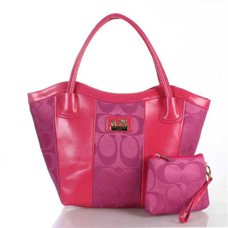 Signature Pink Coach Bag