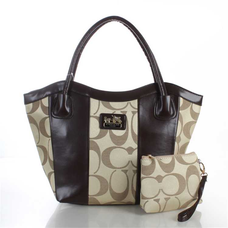 Coach Brown Apricot Bag
