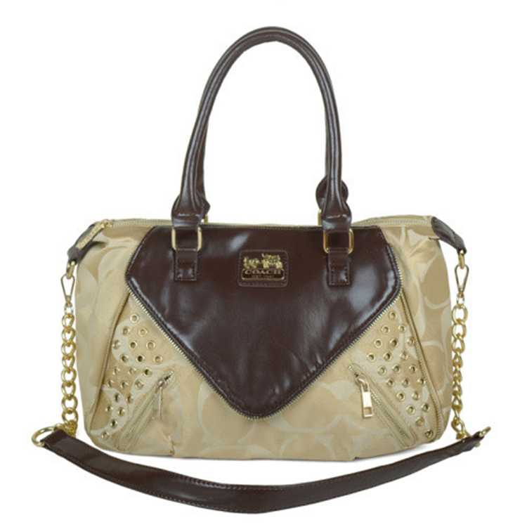 Coach Coffee Beige Totes