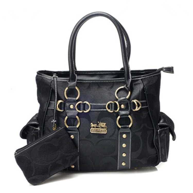 Signature Black Bag Coach