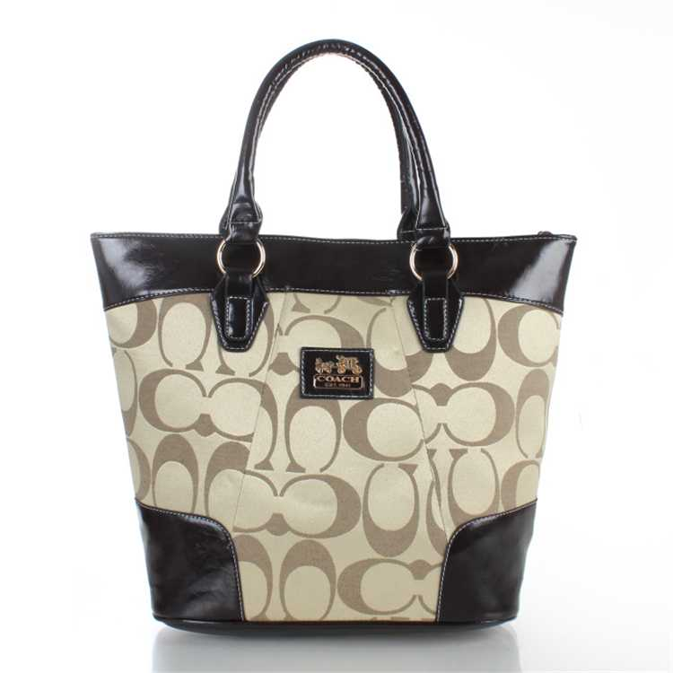 Coach Brown Apricot Totes