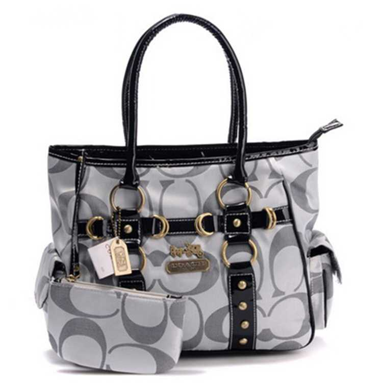 Coach Bag Signature Grey