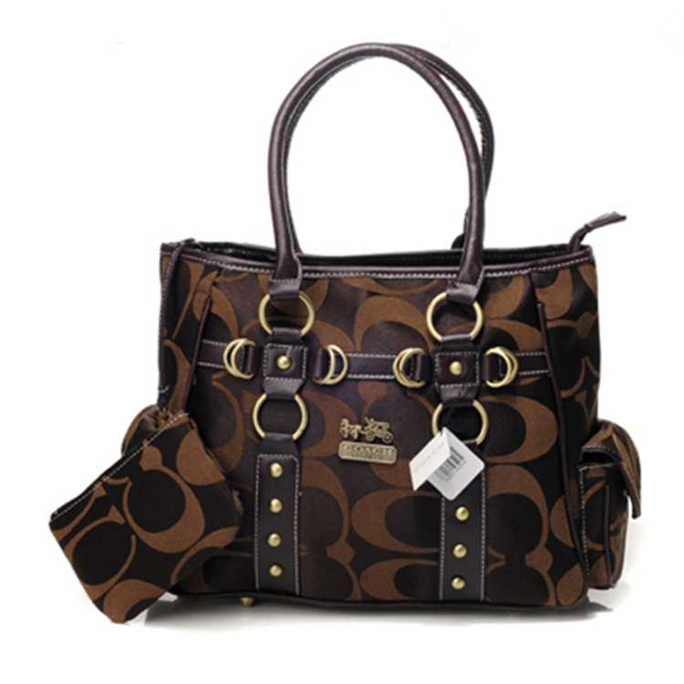 Signature Chocolate Bag Coach