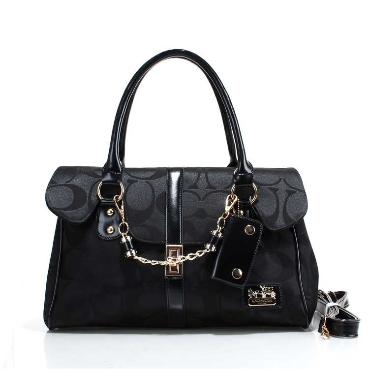 Coach Black Tote Bag