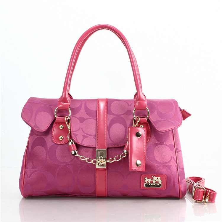 Pink Coach Totes
