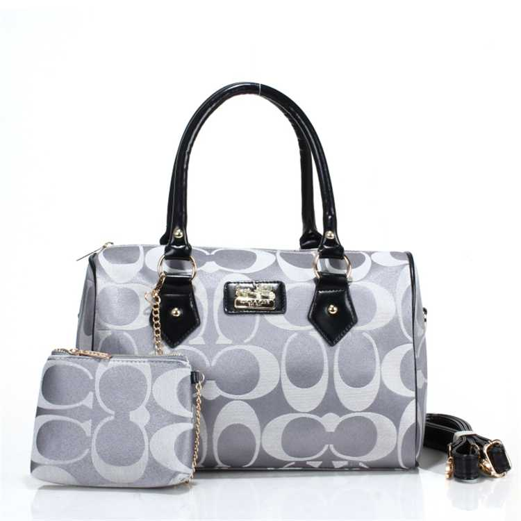 Coach Tote Gray Bag