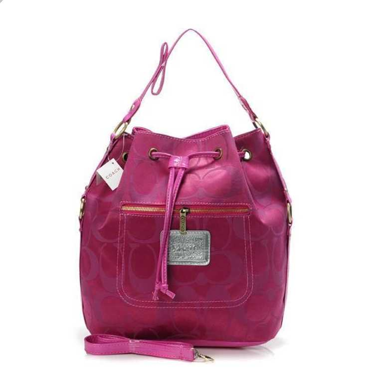 Signature Pink Coach Handbag