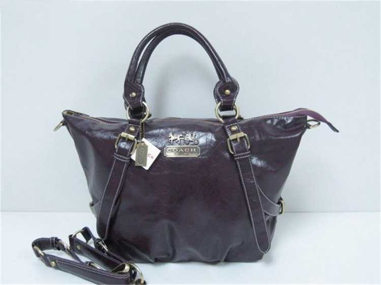 Coach Deep Purple Handbag