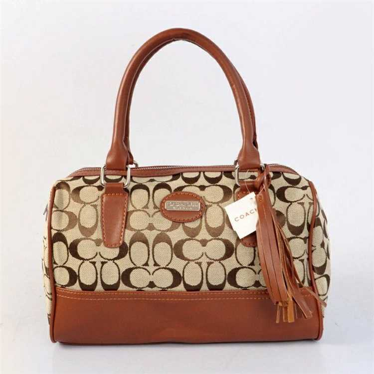 Coach Signature Coffee Handbag