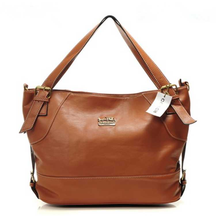 Coach Khaki Hobo Bag