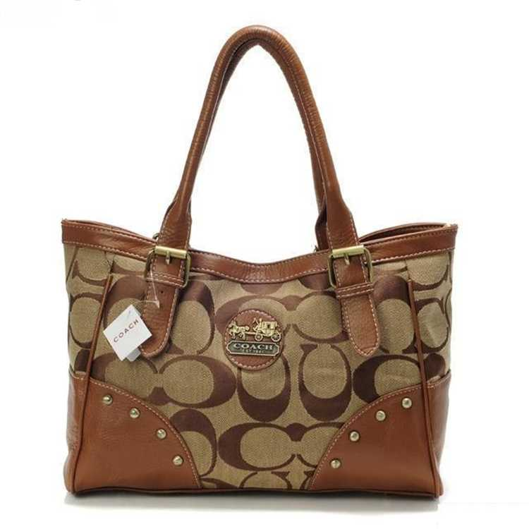 Signature Coffee Tote Bag Coach
