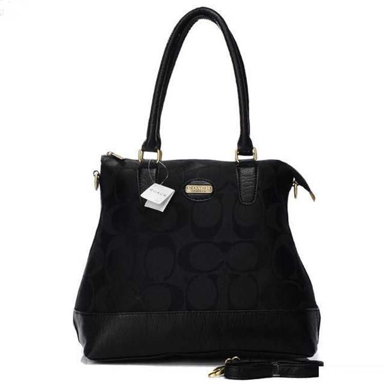 Tote Bag Signature Black Coach