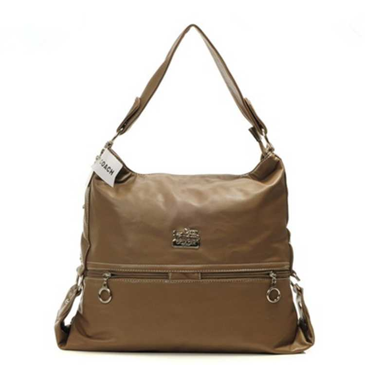 Brown Coach Hobo Bag