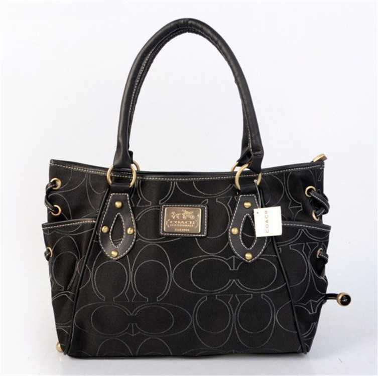 Tote Coach Black Bag