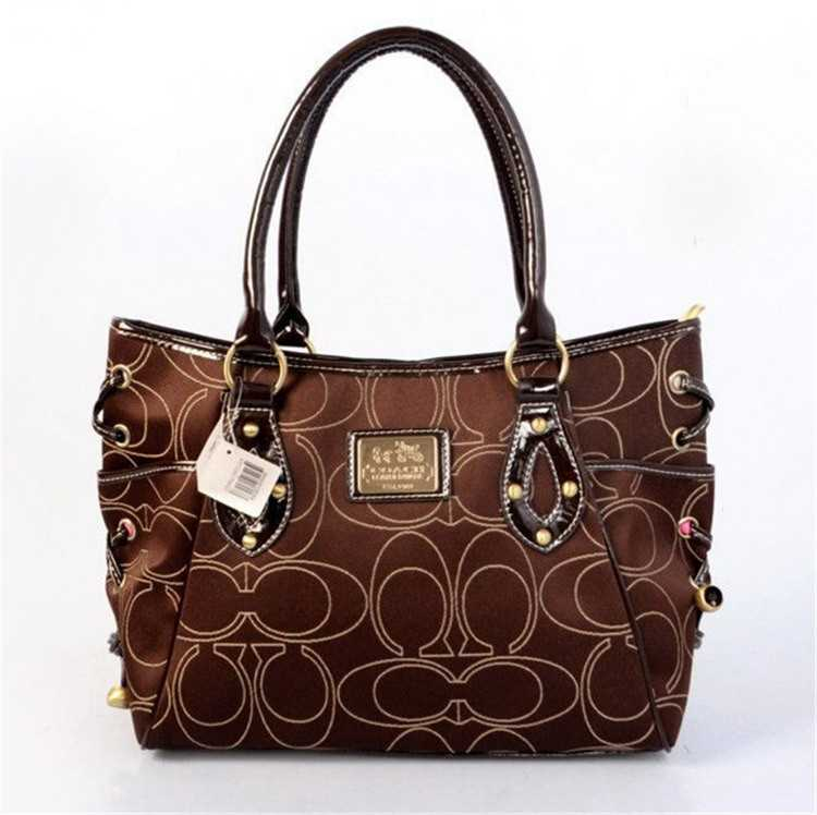 Tote Coach Brown Bag