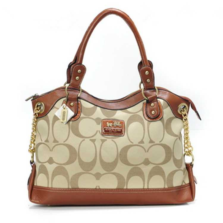 Tote Bag Coach Coffee Golden