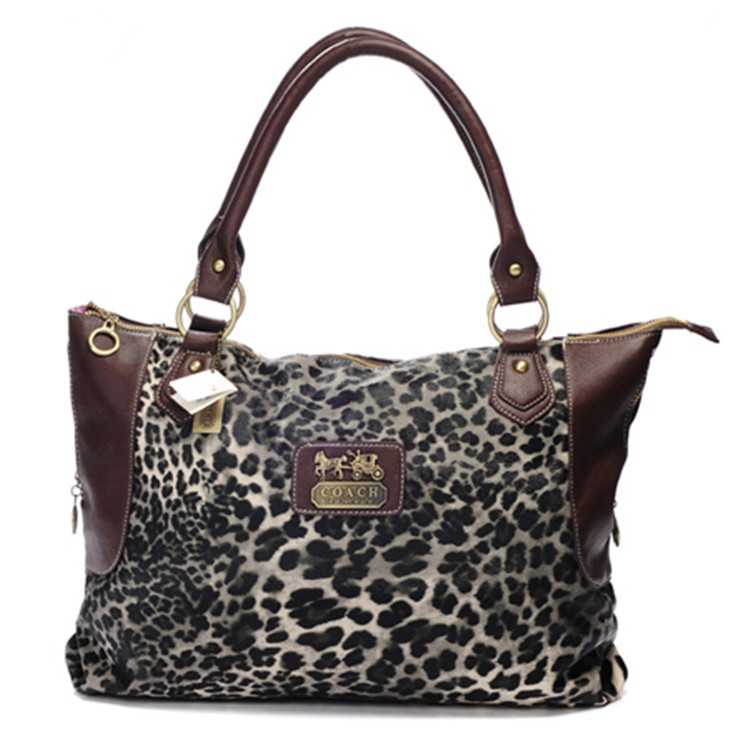 Tote Handbag Coffee Coach