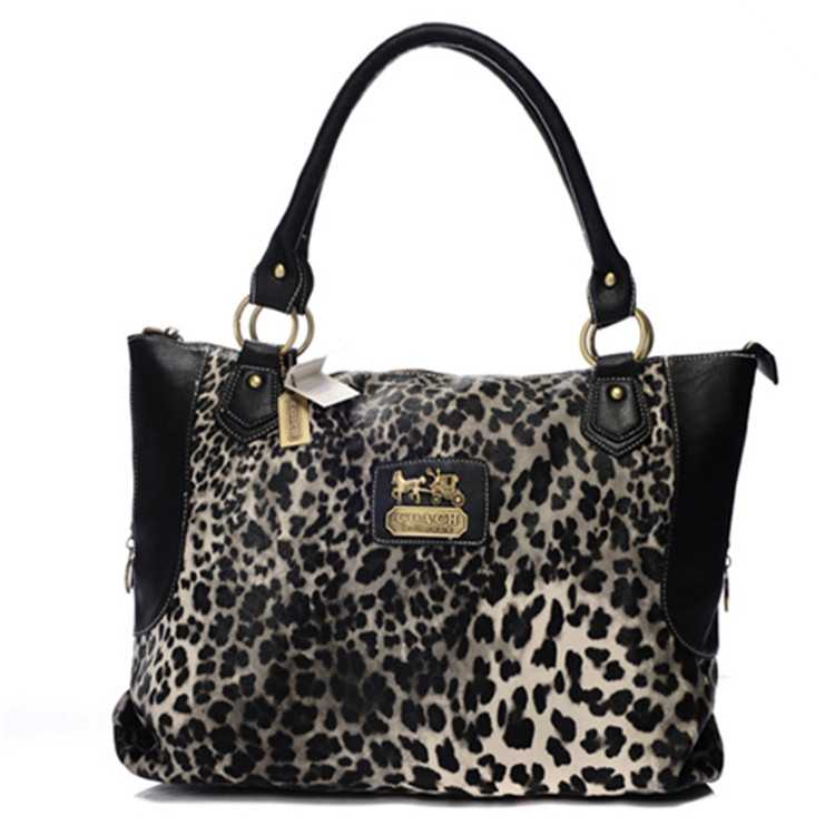 Tote Handbag Black Coach