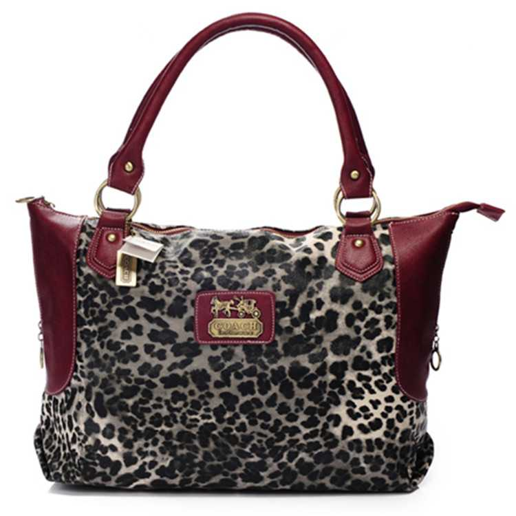 Tote Handbag Red Coach
