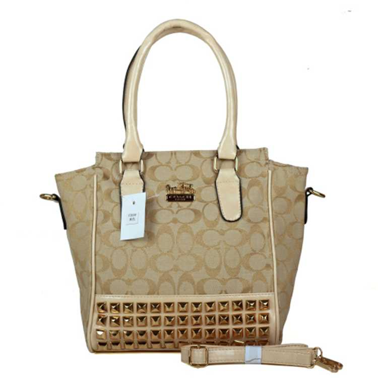 Beige Crossbody Bags Coach
