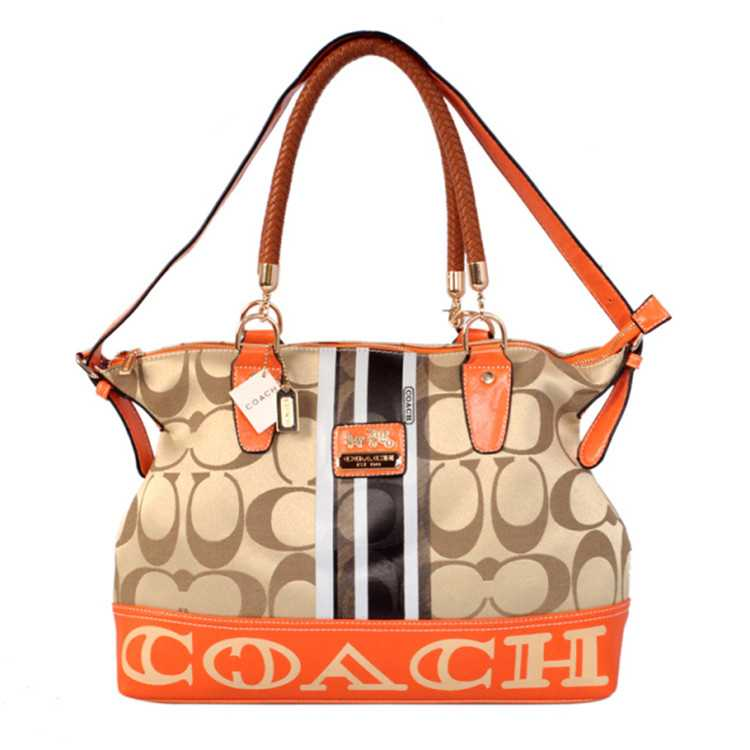 Tote Handbag Signature Coffee Coach