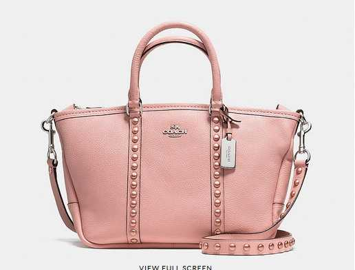 Coach Bags New Arrivals Pink