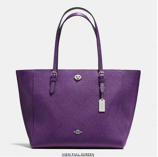 Coach Bags New Arrivals Purple