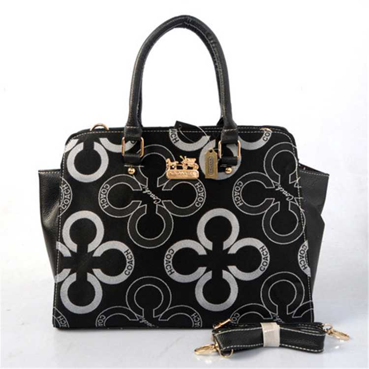 Black Tote Handbag Coach
