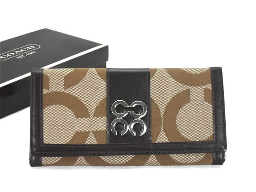 Coach Wallets Style:296