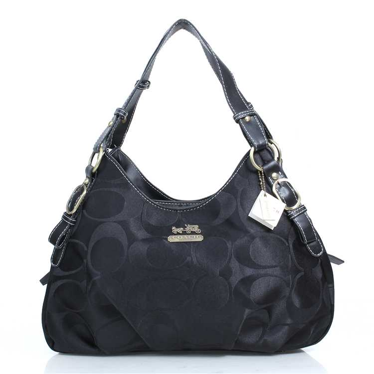 Coach Signature Black Hobos