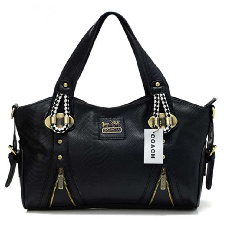 Coach Black Madison Bag