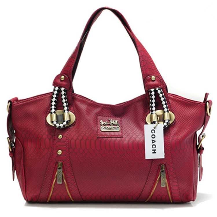 Coach Red Madison Bag