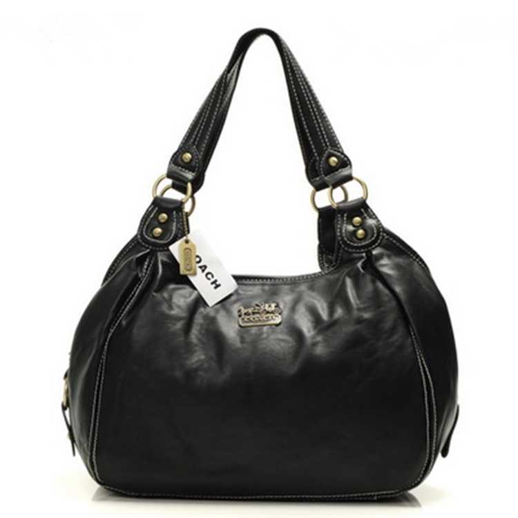 Black Coach Madison Bag