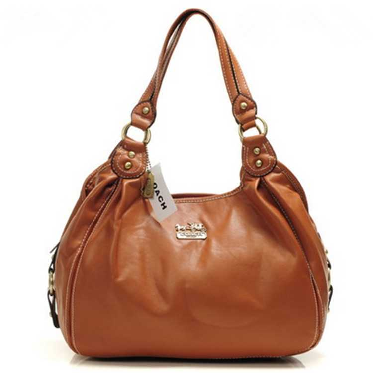 Khaki Coach Madison Bag