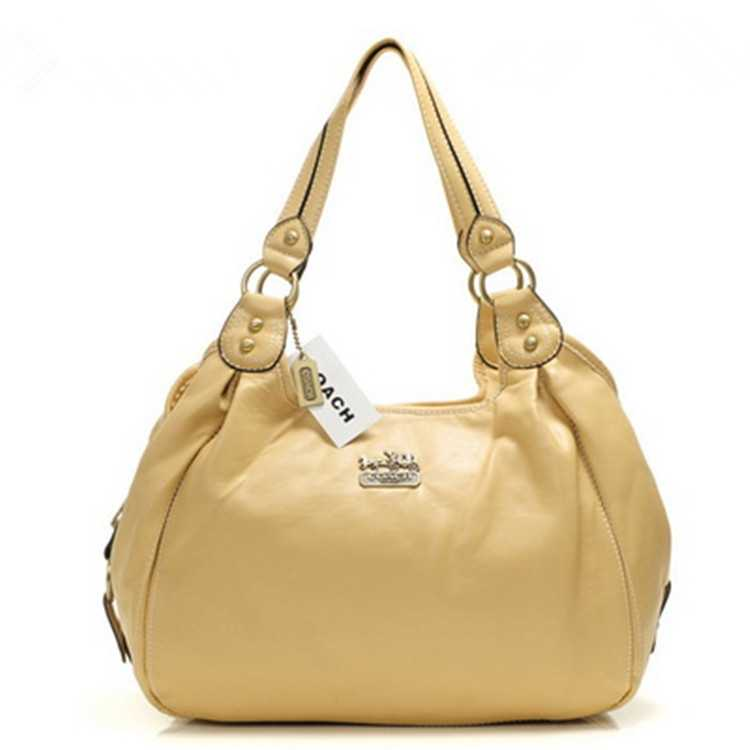 Coach Yellow Madison Bag