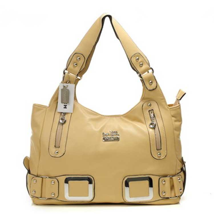 Yellow Coach Madison Bag