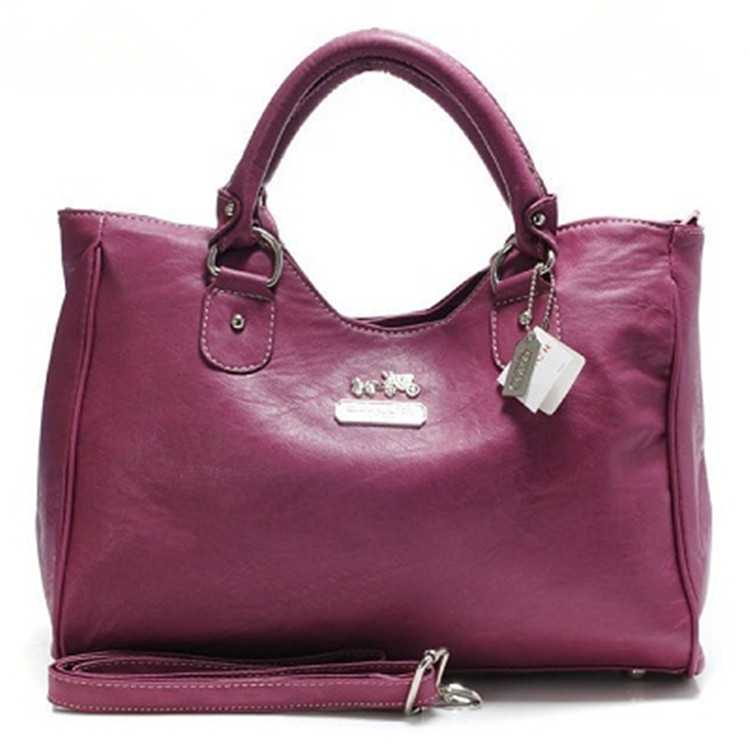 Coach Rose Leather Madison Bag