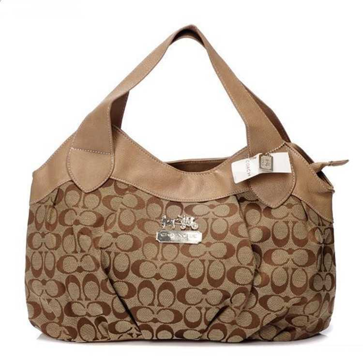 Coach Coffee Apricot Madison Bag