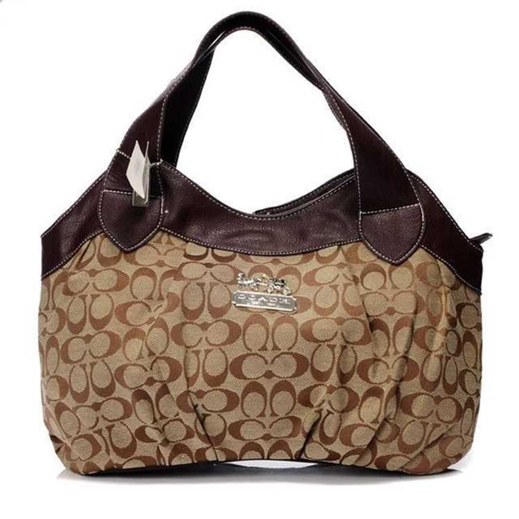 Brown Coach Madison Bag