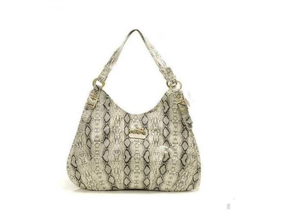 Coach Beige Madison Bag