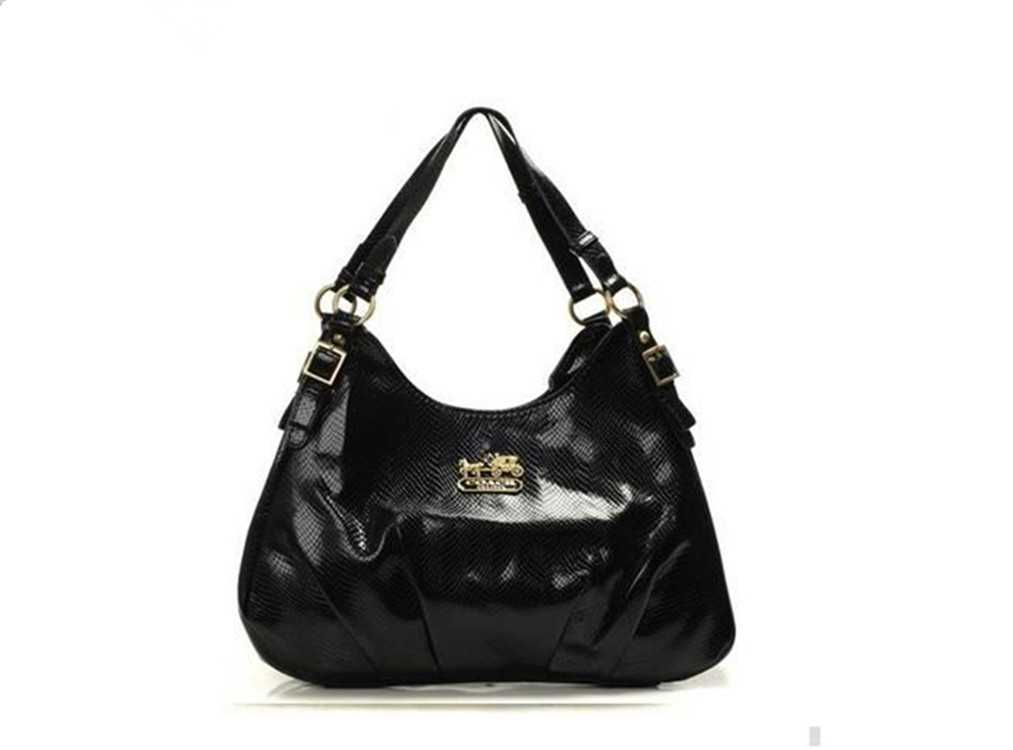 Coach Black Madison Handbag