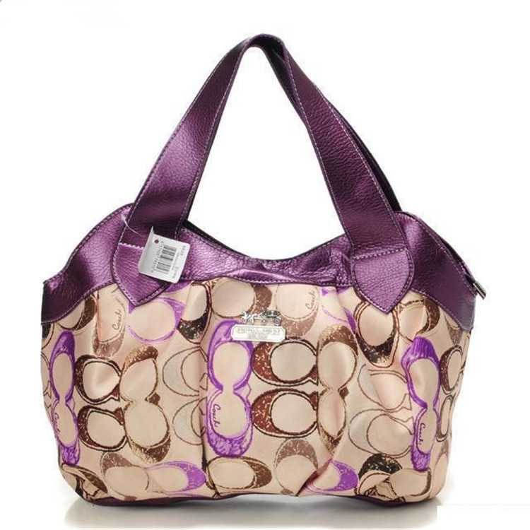Coach Purple Apricot Madison Bag