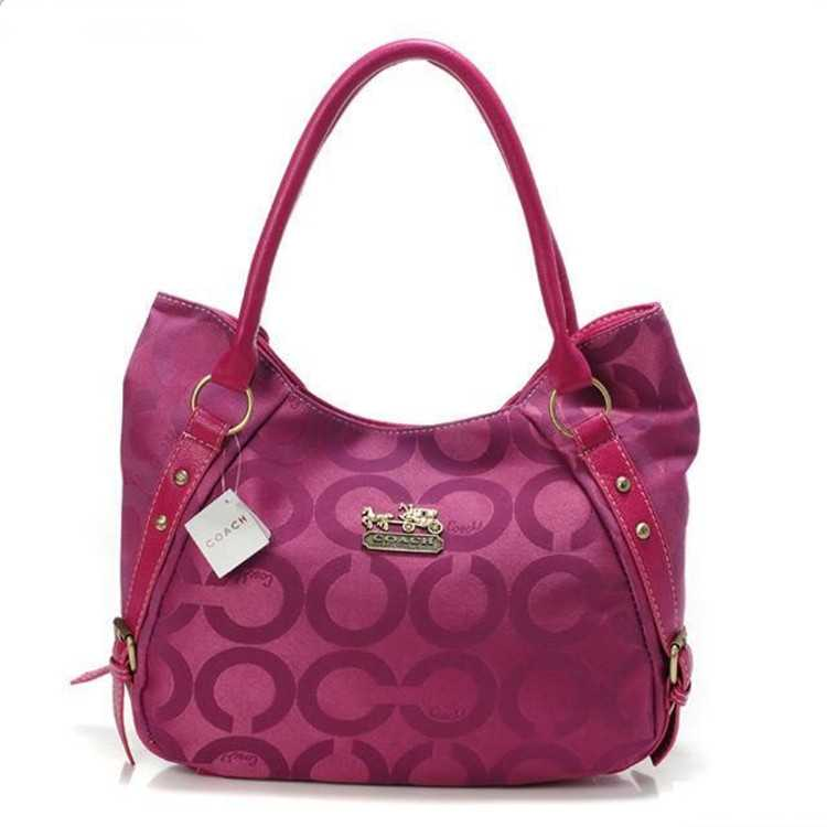 Circle Rose Coach Madison Bag