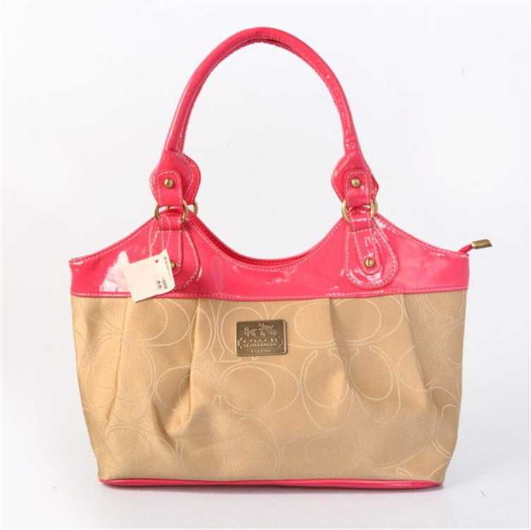 Coach Rose Milky Madison Bag